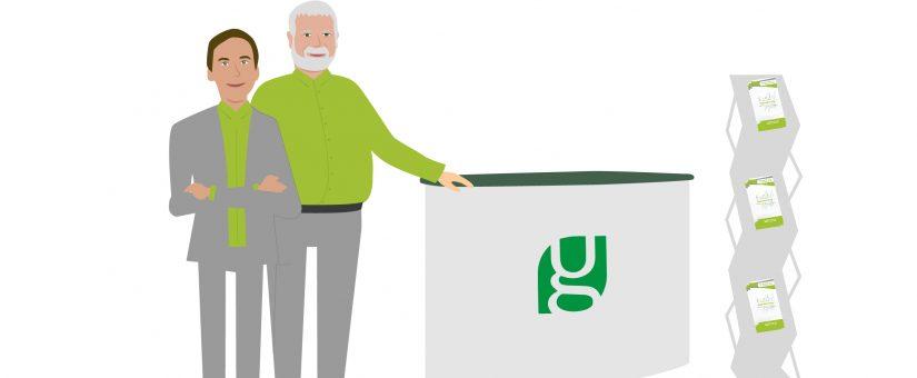 Ein Softwareunternehmen trifft die Bio-Branche